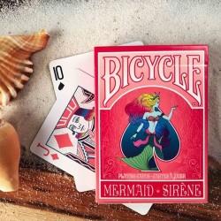 BICYCLE MERMAID SIRENE RED...